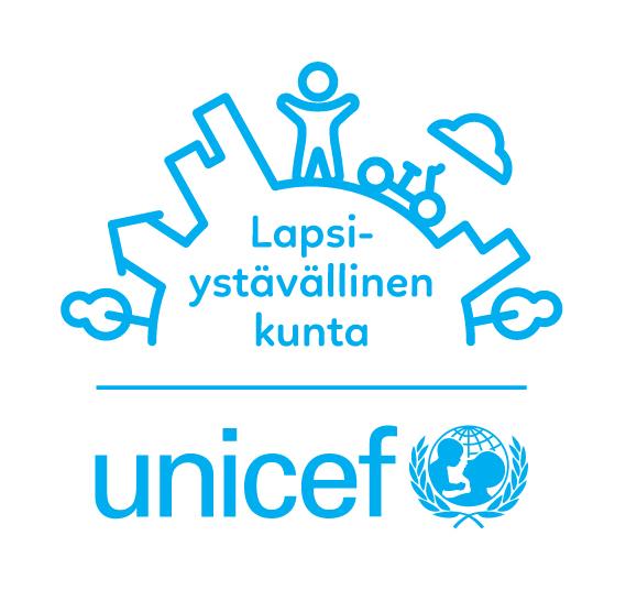 unicefin lapsiystävällinen kunta -logo